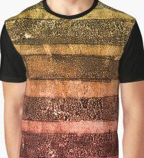 monoprint stripes 4 Graphic T-Shirt