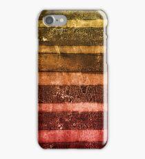 monoprint stripes 4 iPhone Case/Skin