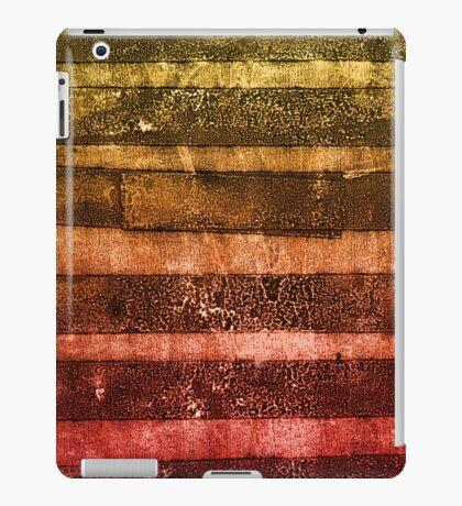 monoprint stripes 4 iPad Case/Skin