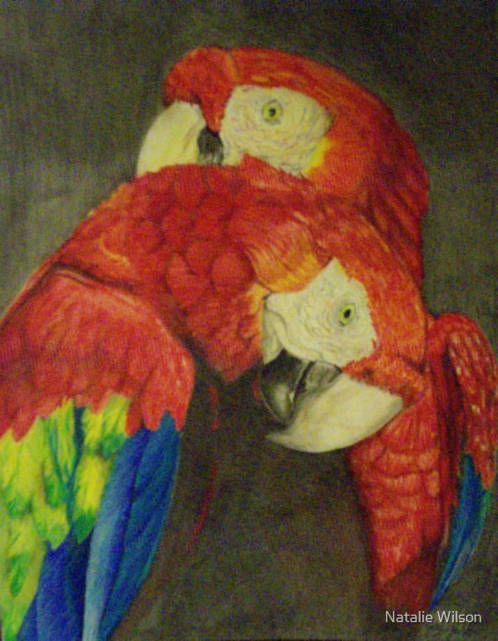 Scarlet Pair by Natalie Wilson