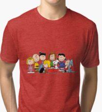 Peanuts, Charlie Brown, Snoopy Tri-blend T-Shirt