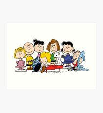 Peanuts, Charlie Brown, Snoopy Art Print