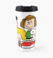Peanuts, Charlie Brown, Snoopy Travel Mug