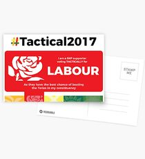 SNP supporting Labour Postcards