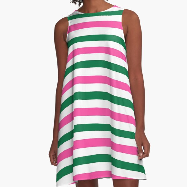 Deckchair Stripes A-Line Dress