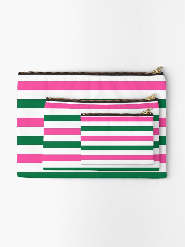 Alternate view of Deckchair Stripes Zipper Pouch