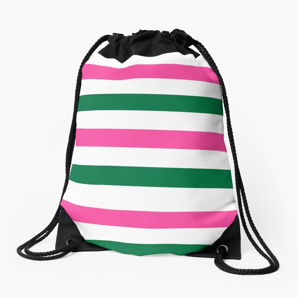 Deckchair Stripes Drawstring Bag