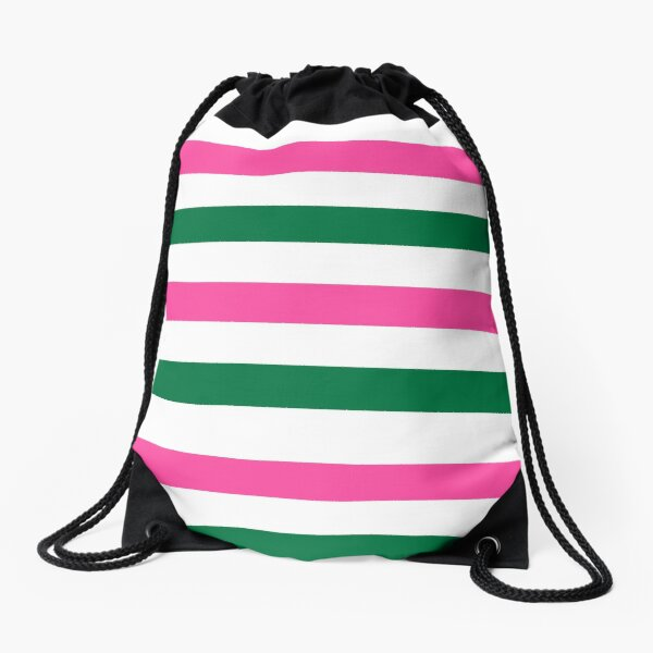 Deckchair Stripes Drawstring Bag