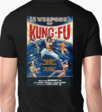 KUNG FU, 18 weapons of Kung Fu Unisex T-Shirt