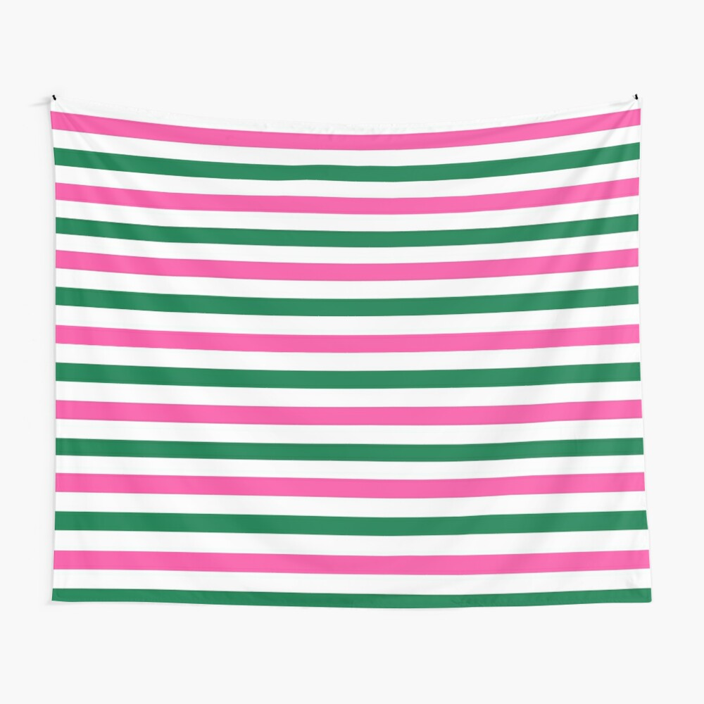 Deckchair Stripes Wall Tapestry
