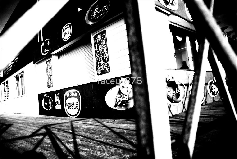 Kiosk behind bars by racey1876
