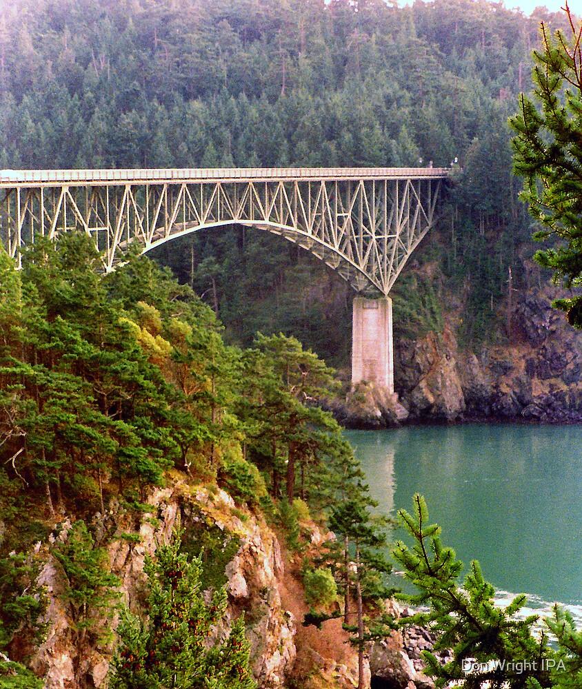 Deception Pass Bridge by Don Wright IPA