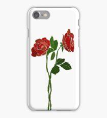 2 dark roses iPhone Case/Skin