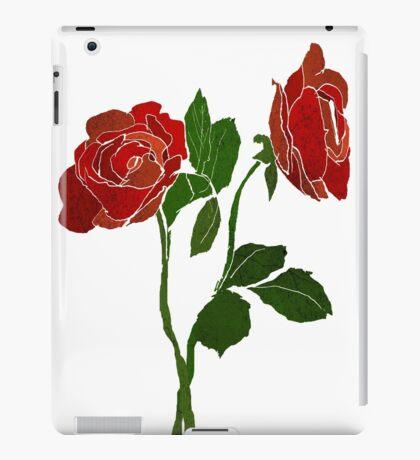 2 dark roses iPad Case/Skin