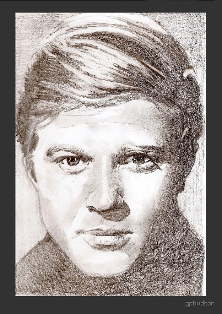 Young Robert Redford by gphudson