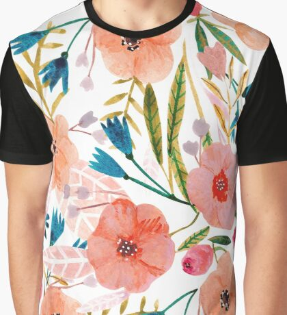 Floral Dance Graphic T-Shirt