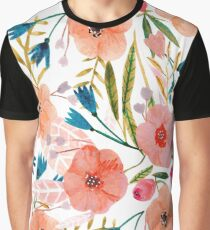 Floral Dance Graphic T-Shirt