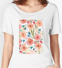 Floral Dance Women's Relaxed Fit T-Shirt