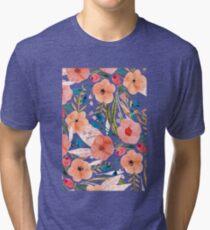 Floral Dance Tri-blend T-Shirt