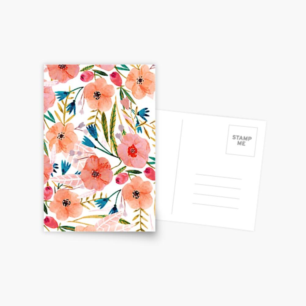 Floral Dance Postcard