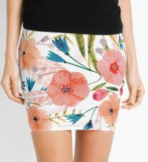 Floral Dance Mini Skirt