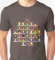 Select Your Character - Street Fighter Alpha 3 MAX T-Shirt