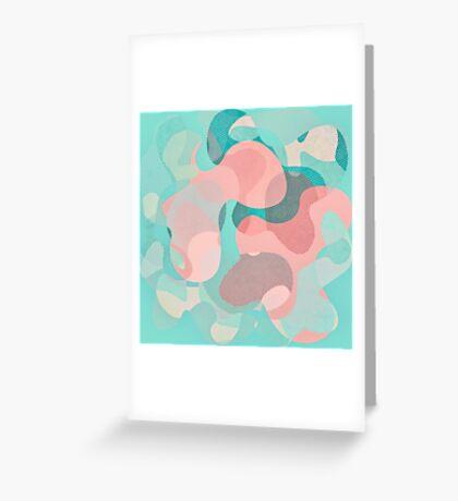 Camouflage XVI Greeting Card