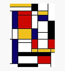 Mondrian Photographic Print