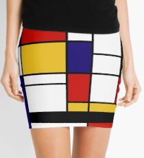 Mondrian Mini Skirt