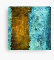 Patina Accents Home Decor Canvas Print