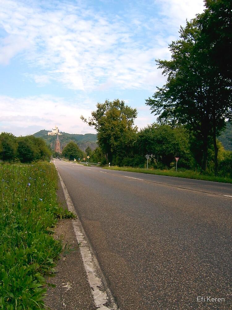Castle on the hill 1 by Efi Keren