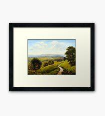 Arthur Gilbert Fieldside Pastures Framed Print