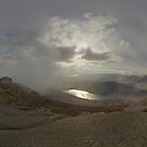 Panoramic View from Slieve Binnian by George Row