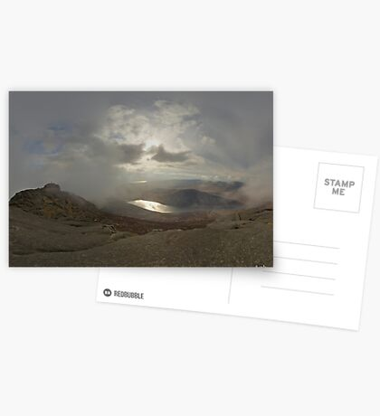 Panoramic View from Slieve Binnian Greeting Card
