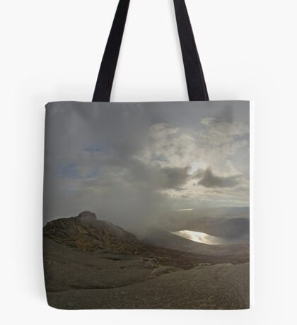 Panoramic View from Slieve Binnian Tote Bag