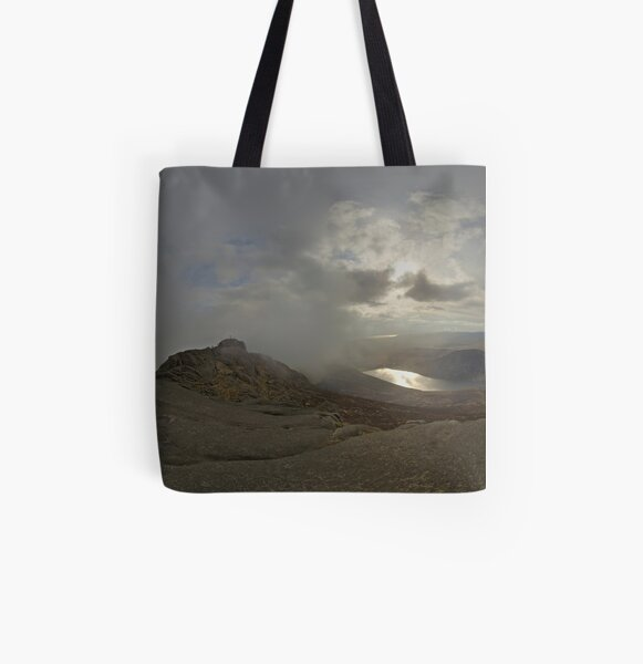 Panoramic View from Slieve Binnian All Over Print Tote Bag