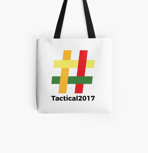 Tactical 2017 Logo All Over Print Tote Bag