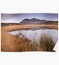 Loch Stack & Arkle Poster