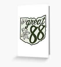 OHIO is Great! Greeting Card