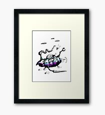 The Steam Powered Ratship Framed Print