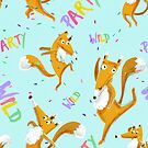 Party Fox by Pauline Reeves
