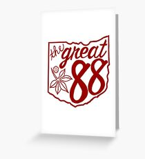 OHIO is Great! R/W Greeting Card