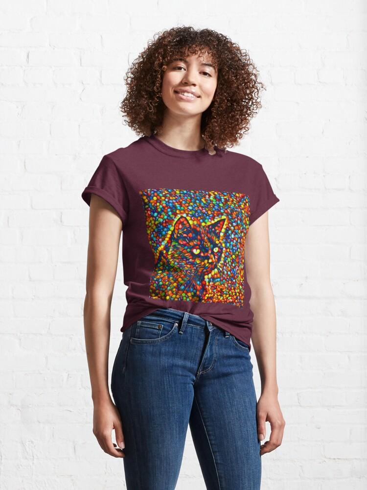 Alternate view of Cat Classic T-Shirt