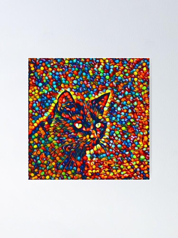 Alternate view of Cat Poster