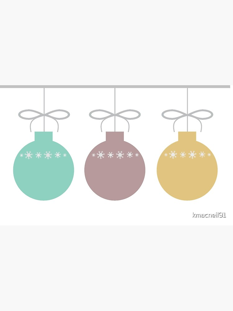 Holiday Ornaments by kmacneil91