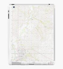 USGS TOPO Maps Iowa IA Red Oak North 20130412 TM iPad Case/Skin