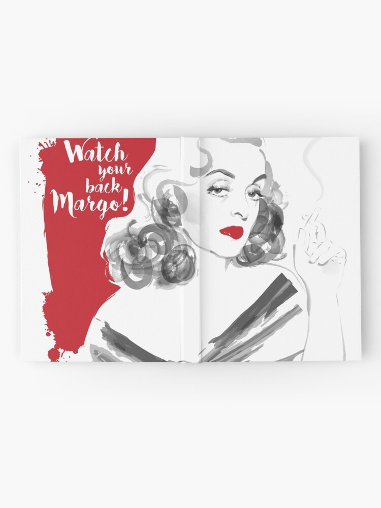 Alternate view of Watch your back Margo! Hardcover Journal