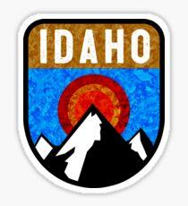 IDAHO MOUNTAINS OUTDOORS NATURE SKIING YELLOWSTONE SUN VALLEY KETCHUM NATURE HIKING Sticker