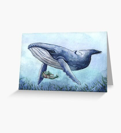 Aquatic Friends Greeting Card