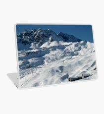 Swiss Winter Snow Scene Laptop Skin